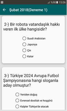 2019 KPSS Güncel Bilgiler screenshot 3