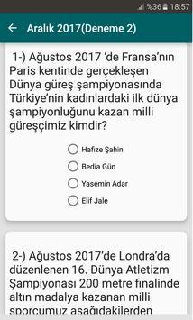 2019 KPSS Güncel Bilgiler screenshot 5