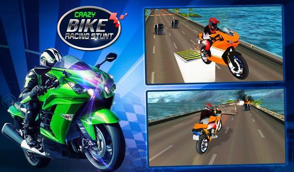 Crazy Bike Racing Stunt poster