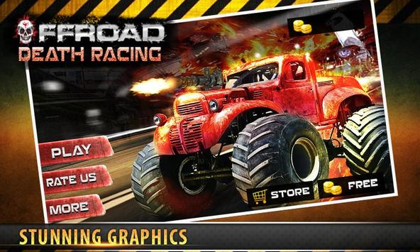 Offroad Death Racing 3D poster