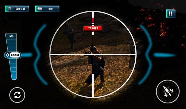 Modern Commando Sniper Fury apk screenshot