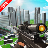 Army Sniper Shoot Strike : Elite Killer 3D Game icon