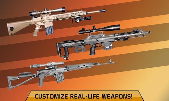 Elite Sniper Combat Killer : Army Civil War screenshot 11