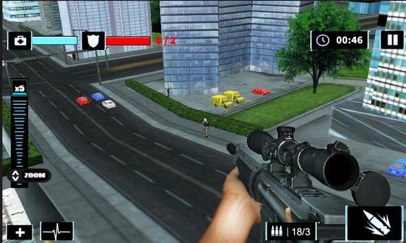Elite Sniper Combat Killer : Army Civil War screenshot 12