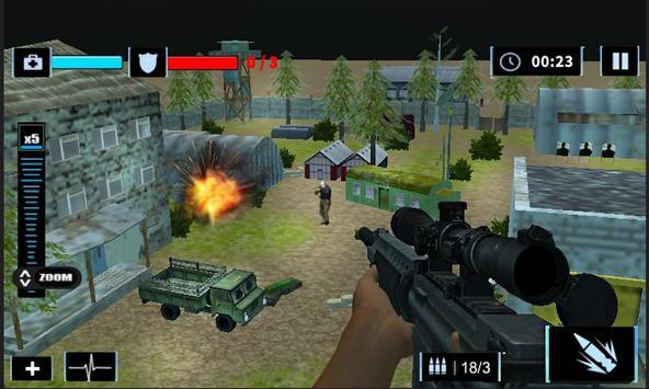Elite Sniper Combat Killer : Army Civil War screenshot 13