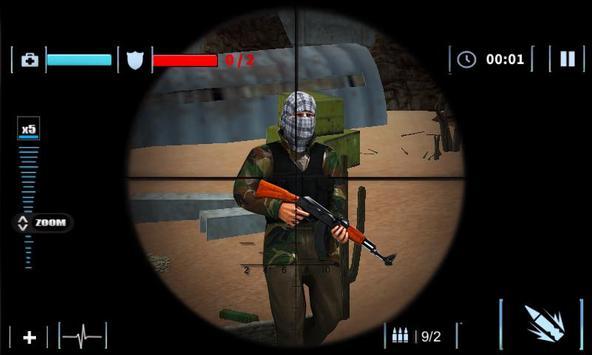 Elite Sniper Combat Killer : Army Civil War screenshot 14