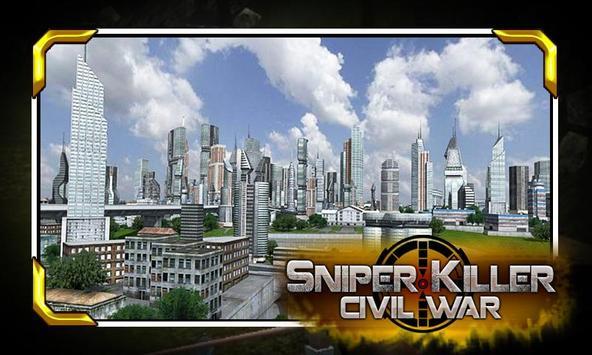 Elite Sniper Combat Killer : Army Civil War screenshot 2