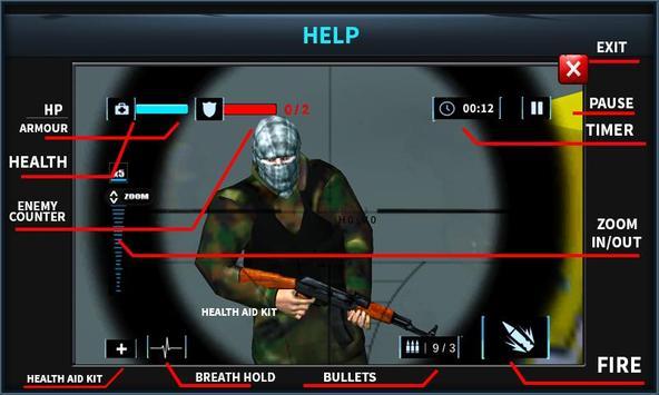 Elite Sniper Combat Killer : Army Civil War screenshot 7