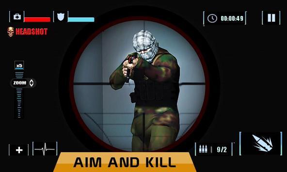 Elite Sniper Combat Killer : Army Civil War screenshot 4