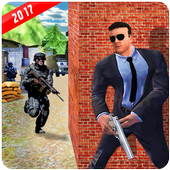 Secret Agent Target Shooter icon