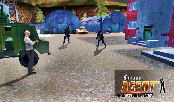 Secret Agent Target Shooter apk screenshot