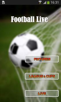 Football Live poster