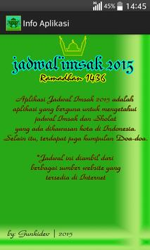 Jadwal Imsak 2015 screenshot 6
