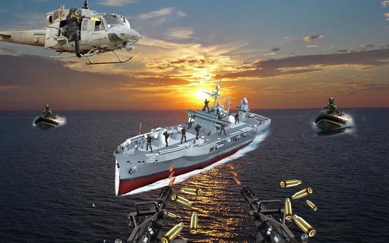 Gunship Deep Sea Shooting Game 2018 apk screenshot