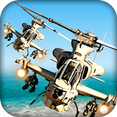 Heli Dog Fight Chase : Gunship icon