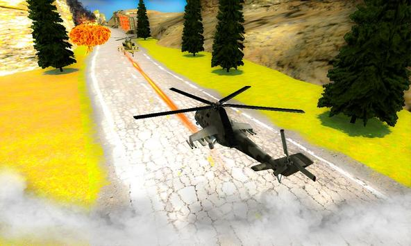 Heli Dog Fight Chase : Gunship apk screenshot