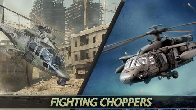 Gunship Helicopter Battle 3D Game poster