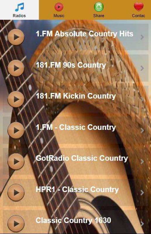 Classic Country Music Radio