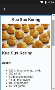 Aneka Resep Kue Sus apk screenshot
