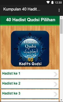 Kumpulan 40 Hadits Qudsi screenshot 1