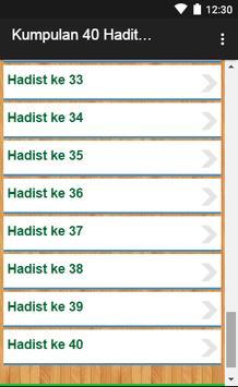 Kumpulan 40 Hadits Qudsi screenshot 4