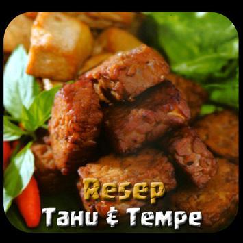 Resep Masakan Tahu & Tempe poster