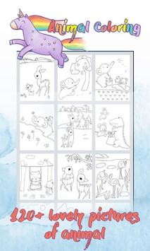 GuSa Animals Coloring for Kids poster