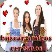 Buscar Amigos Cercanos Chat icon