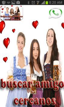 Buscar Amigos Cercanos Chat poster