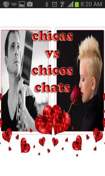 Chicas Vs Chicos Chat Anónimo screenshot 3