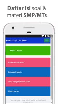 Bocoran Soal UN SMP MTs 2018 /UNBK UNKP (Rahasia) screenshot 1