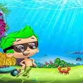 Guppies Super adventur water icon