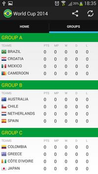 WorldCup 2014 screenshot 1