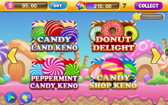 Free Keno Games - Candy Bonus screenshot 5
