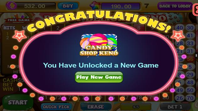 Free Keno Games - Candy Bonus screenshot 13