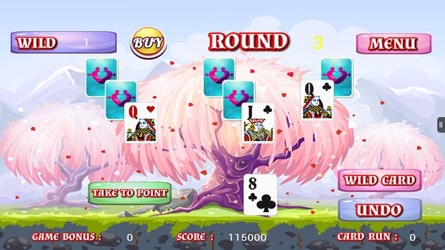Tripeaks Solitaire All Romance apk screenshot