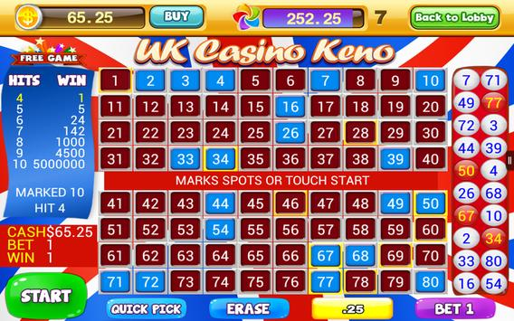 World Casino - Free Keno Games apk screenshot