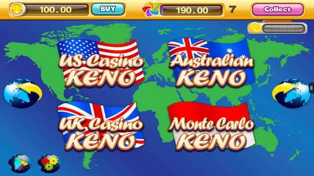World Casino - Free Keno Games screenshot 13