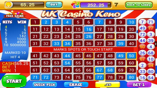 World Casino - Free Keno Games screenshot 15