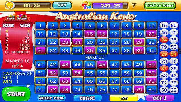World Casino - Free Keno Games screenshot 2