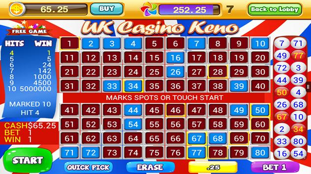 World Casino - Free Keno Games screenshot 3