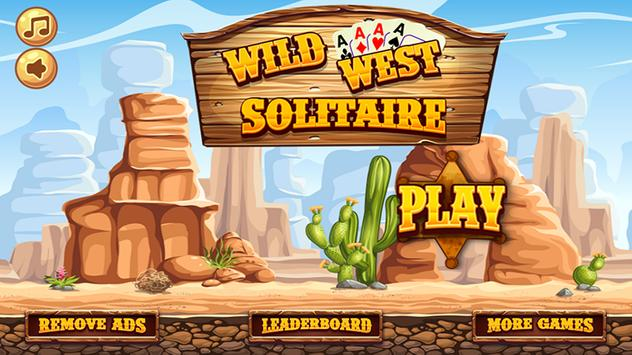 Wild West Tri Peaks Solitaire poster