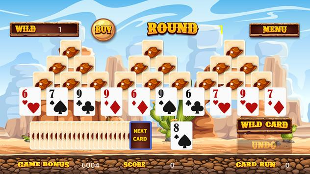 Wild West Tri Peaks Solitaire screenshot 1
