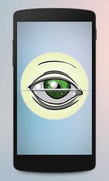 Eye Scanner Lock Screen Prank screenshot 1
