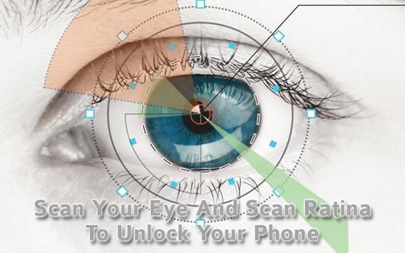 Eye Scanner Lock Screen Prank screenshot 5