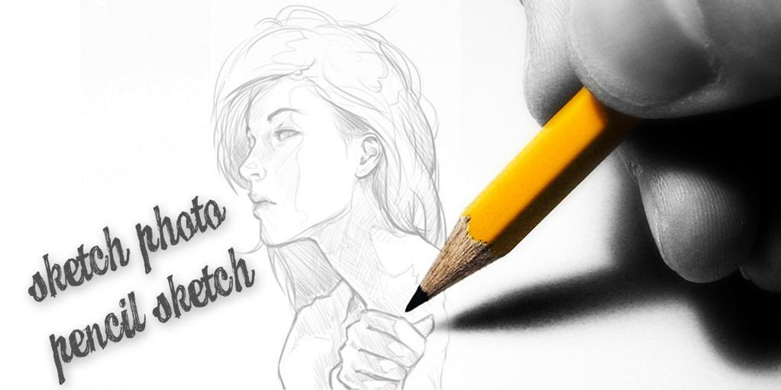 Sketch photo editor pencil sketch photo maker poster