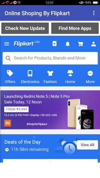 Online Shoping By Flipkart poster