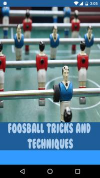FoosBall Tricks and Techniques poster