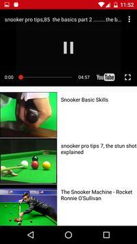 Learn Easy Snooker Shots apk screenshot