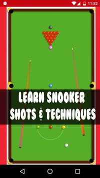 Learn Easy Snooker Shots poster